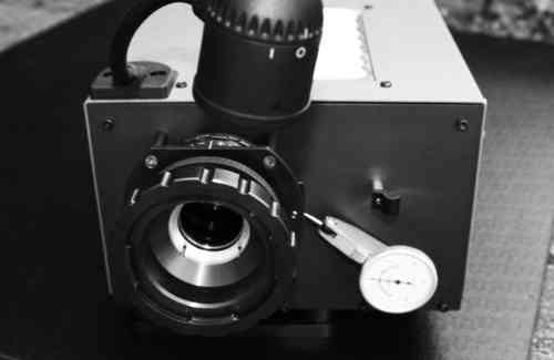 Lens Testing Projector - Workshop Unit