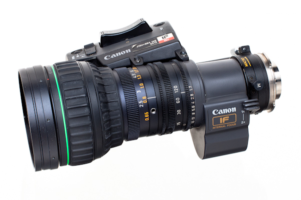 Canon J15x8 B4 IAS with x2 Range Extender