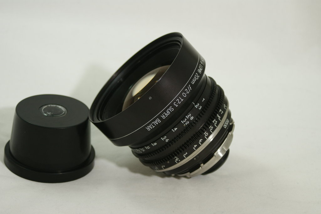 Bausch and Lomb Super Baltar 20mm F2.0 T2.3 PL Wireform™ Conversion