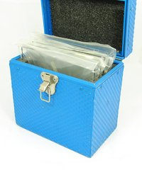 "Blue filter case 5 slot with 6.6""x6.6"" filters"