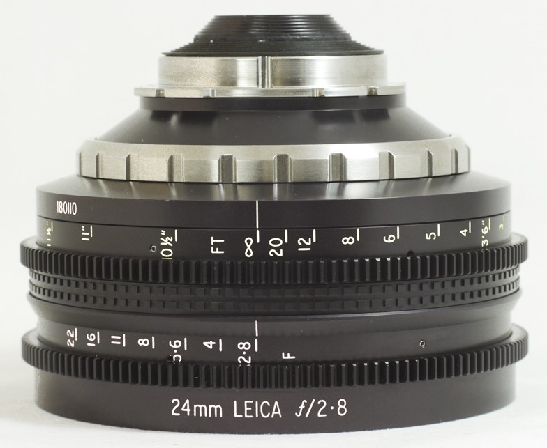 Leica 24mm F2.8 Elmarit R, IWF 24 x 36 PL (Conversion Only)