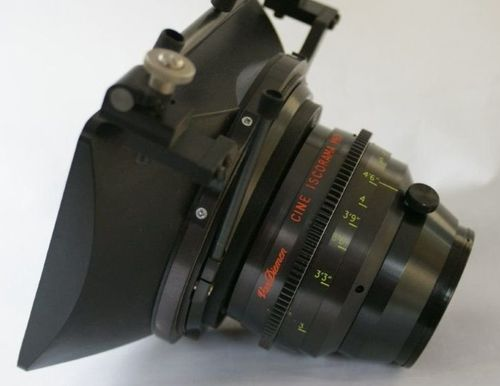 ISCO VII 30 Anamorphic Close Focus Fixed Front  Conversion