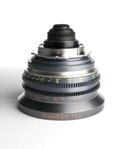 "Cine Xenon Close Focus (7"") 18mm F1.8 T2.2 Conversion Only. (Lens supplied scroll to 65/12200 below)"
