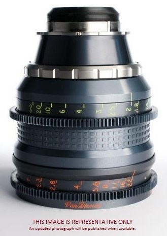 Cine Xenon 3-1 ratio approx 100mm F2.5 T2.8 Conversion Only. (Lens supplied scroll 65/12260 below)