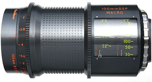 Cine Xenon Macro Lens 100mm SII F2.5 T2.8 Conversion Only. (Lens supplied scroll to 65/12280 below)